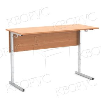 Стол ученический 2-х местный регулируемый по высоте: 2-4 или 4-6рост(п